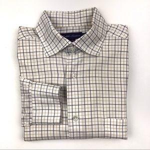 Ralph Lauren Purple Label Linen Button Front Shirt